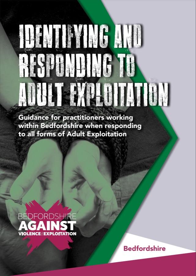 Adult exploitation guidance