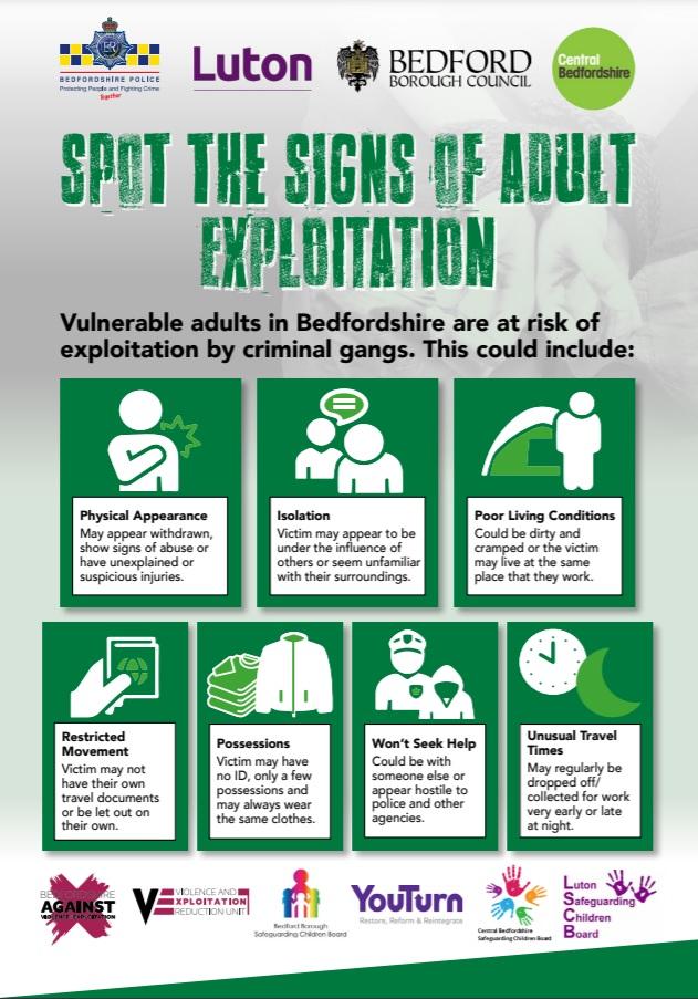 Adult exploitation poster