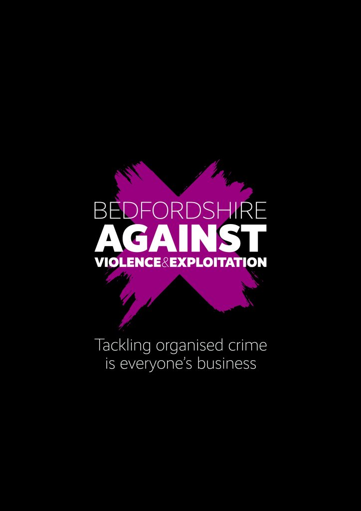 Bedfordshire Against Violence and Exploitation logo