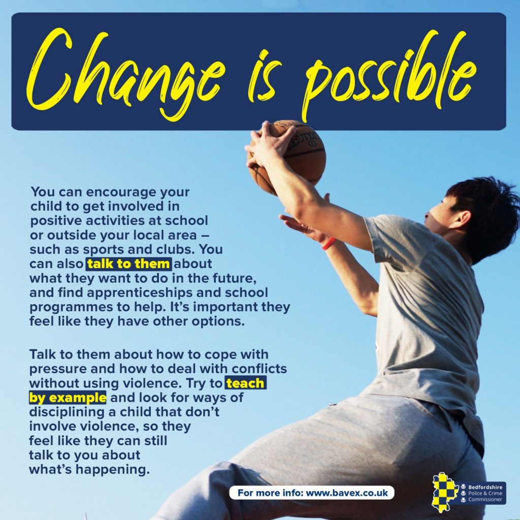 Change is possible graphic