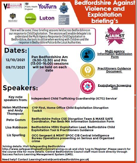 BAVEX briefings leaflet